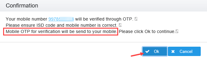 IRCTC Change Registered Mobile Number