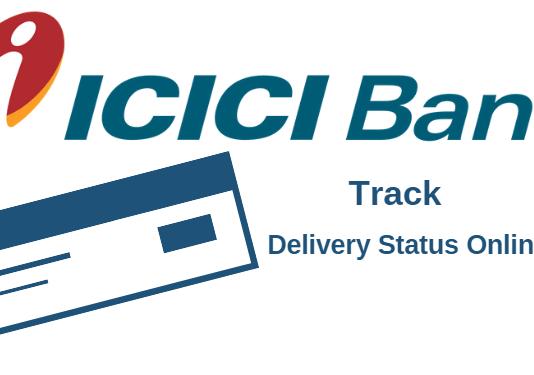 ICICI track chequebook delivery