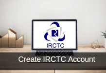register create IRCTC account