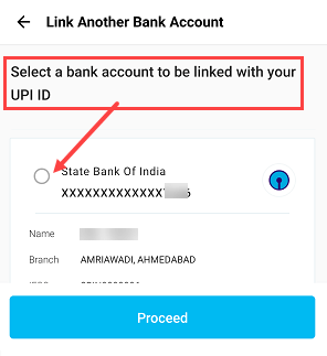 Paytm create UPI ID and UPI PIN