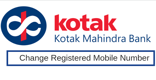 kotak mobile number change