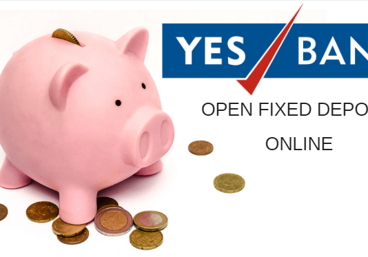Yes Bank Open Fixed Deposit (FD) online