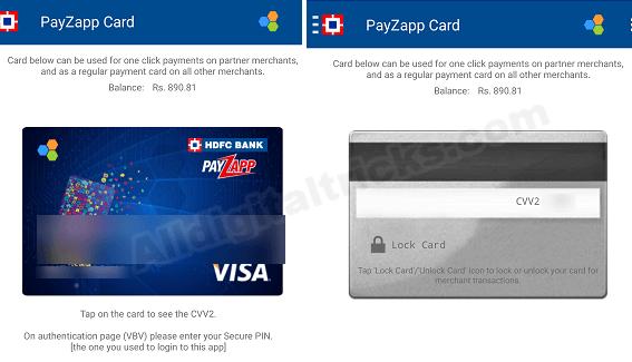 Payzapp card