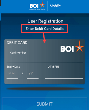 Bank of India (BOI) Mobile Banking activation process