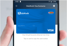 Mobikwik VISA Virtual Debit Card