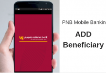 Add Beneficiary PNB Mobile Banking