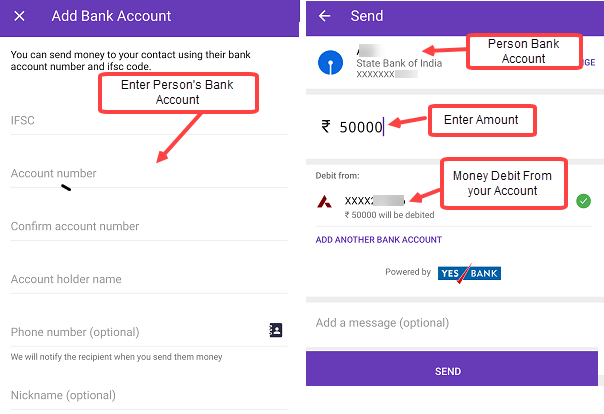 Add (Link) Bank Account in PhonePe