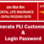 Online PLI Generate ID and PLI login password