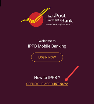 open IPPB saving account online