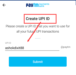 Paytm Bank to Bank Money Transfer