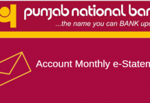 PNB monthly e-statement