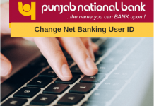 Change user id Change user id pnb net bankingpnb net banking