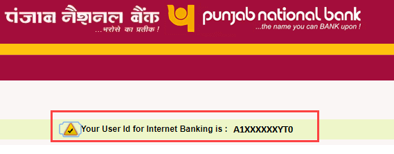 PNB net banking forgot User ID, get online