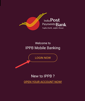 IPPB Mobile Banking registration