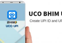 UCO BHIM UPI - register, Create UPI ID and UPI PIN