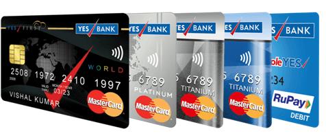 Yes Bank Change generate Debit card PIN