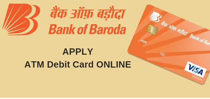 Bank of baroda new atm card