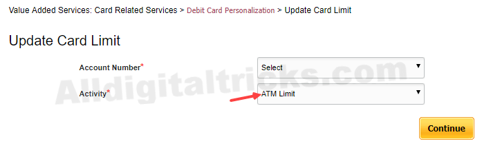 Daily ATM Cash Withdrawal Limit PNB ATM Card