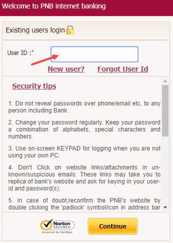 Unblock pnb net banking