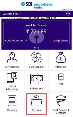 SBI ATM Debit card withdrawal limit per day