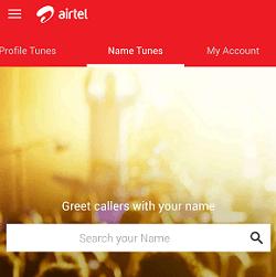 Airtel name hello tune