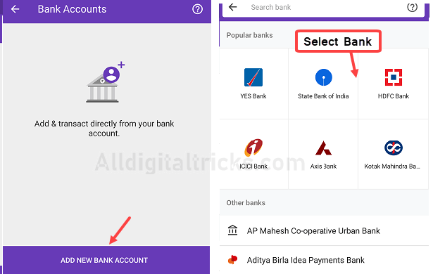 PhonePe Create UPI ID