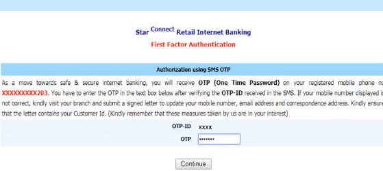 BOI Net Banking Online Registration Process