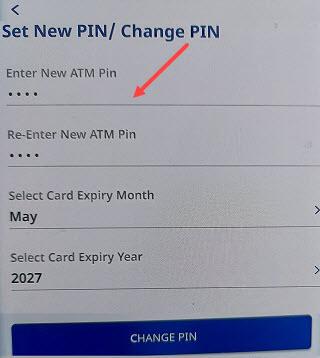 Federal Bank set reset ATM PIN