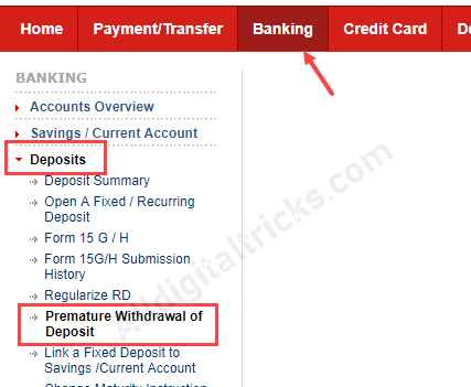 Close Kotak Fixed Deposit (FD) Online