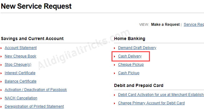 Kotak Cash delivery