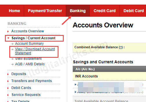 Kotak Bank Statement PDF download