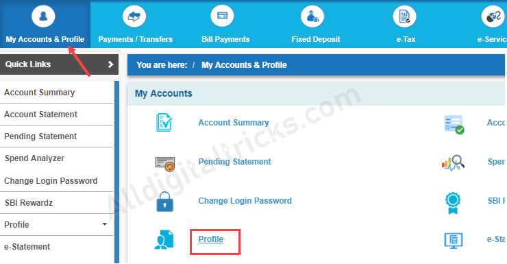 SBI - Fund Transfer without OTP