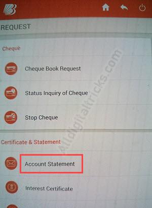 Bank of baroda 3 month statement