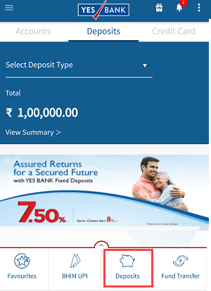 Open Yes Bank RD (Recurring Deposit) Online