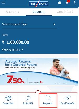 Open Yes Bank RD (Recurring Deposit) Online