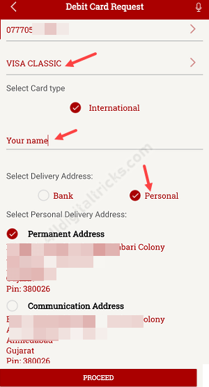 Apply Online South Indian Bank ATM Debit Card