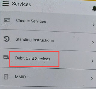 Andhra Bank ATM Debit card activate