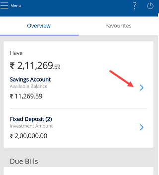 Download HDFC Bank Account Statement