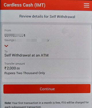 kotak cardless cash withdraw without ATM Debit card