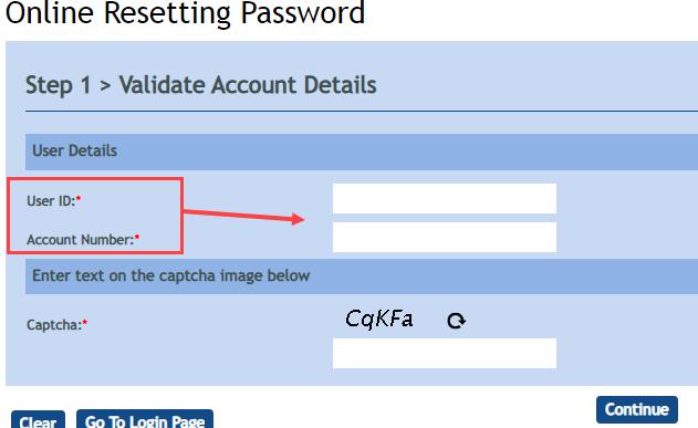 Reset Vijaya Bank Internet Banking Login Password & Transaction Password
