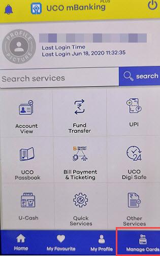 How To View UCO ATM\/Debit Card Details Online - AllDigitalTricks