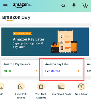 Amazon Pay later
