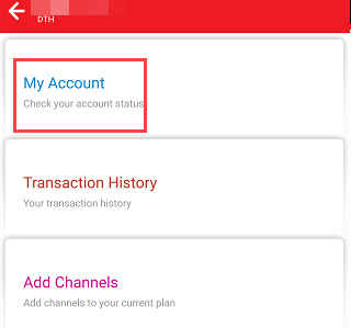 Change Airtel DTH Registered Mobile Number