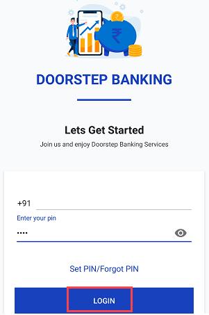 login doorstep banking